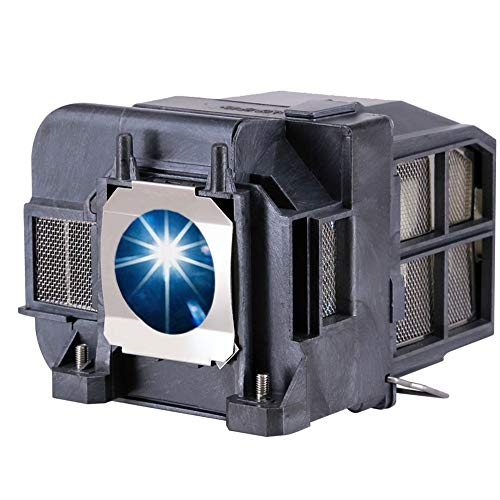EWO'S ELP77 Replacement Projector Lamp for ELPLP77 Epson Powerlite 1975W 1980WU 1985WU 4650 4750W 4770W 4855WU G5910 HC 1440 PC 1985 EB-1970W 4550 4855WU 4950WU 4955WU V13h010l77 Lamp Bulb Replacement
