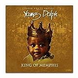 hutianyu Young Dolph King of Memphis 2018 Rap Musikalbum