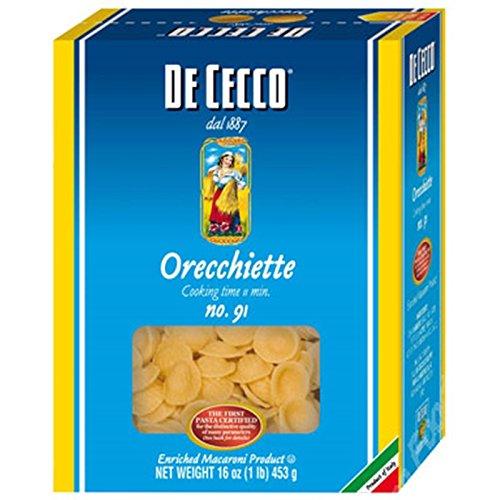 3x De Cecco Nudeln 'Orecchiette' n.91, 500 g