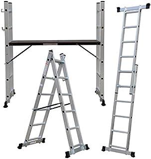 comprar comparacion Andamio aluminio multiplataforma con dos escaleras de carril marca Pro-Steps