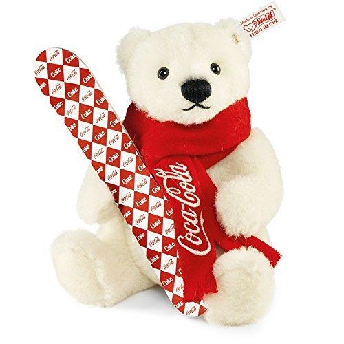 Steiff 355400 Coca-Cola Eisbaer 21 Alpaca