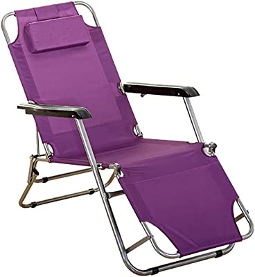 XXYY Folding Chair Office Recliner Folding Lunch Break Home Lazy Chair Siesta Bed Multi-Function Chair