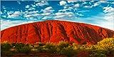 Poster 100 x 50 cm: Uluru (Ayers Rock) von Giles