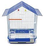 BPS Jaula Pájaros Metal con Comedero Bebedero Columpio Saltador Cubeta Color envia al Azar (46 x 28 x 34.5 cm) BPS-1251