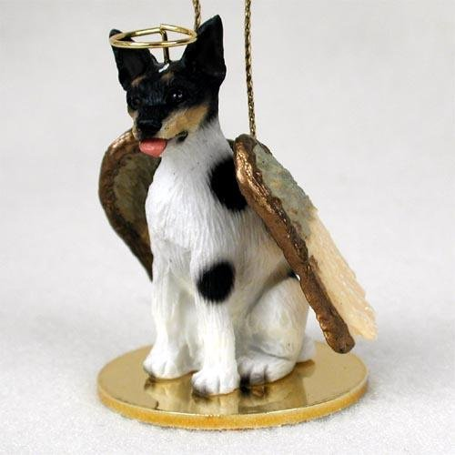 Rat Terrier Tiny Ones Hundeengel (5,1 cm)