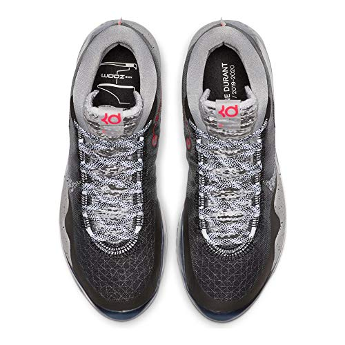 Nike Zoom KD 12 Basketball Shoes (M11.5/W13, Black/Black/White)
