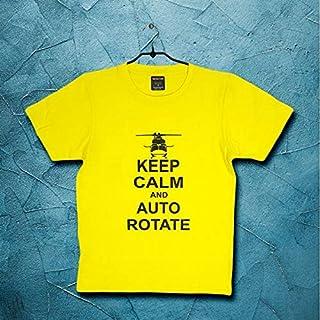 Keep Calm and Auto Rotate Yellow T-Shirt