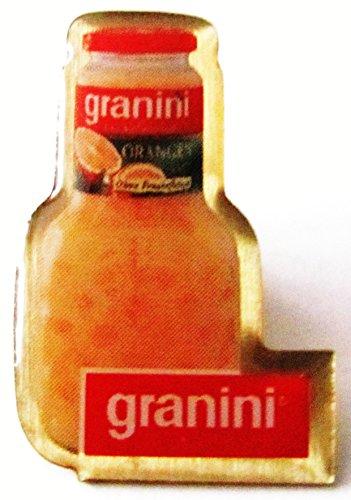 Granini - Orange - Flasche & Schriftzug - Pin 28 x 18 mm
