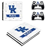 Adventure Games PS4 PRO - UK Kentucky Wildcats - Playstation 4 Vinyl Console Skin Decal Sticker + 2 Controller...