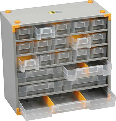 Allit 465500 VarioPlus Metall 33 Maße: 300 x 140 x 295 mm Kleine Teile Schrank Schubladen Trennstege