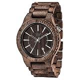 [ウィウッド] 腕時計 9818086 正規輸入品 ブラウン