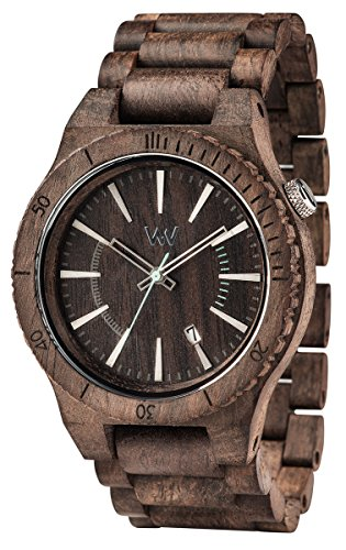 WeWood Assunt Rough Indian Rosewood Watch - Chocolate