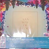 AAA WAY OF GLORY FC限定 初回生産限定盤 CD DVD