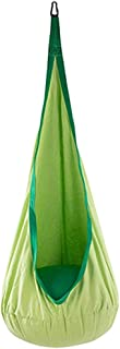 MagiDeal 70KG Load Bearing Kids Inflatable Cushion Hammock Chair Swing Seat Children Garden Patio Toy - Green