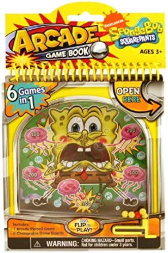 Giddy-up Sponge Bob Arcade Activity Book by Giddy Up