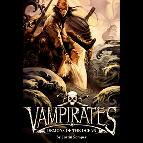 Vampirates audiobook cover art