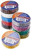 Ah Accessories Set nastro isolante 0,13 x 15 mm x 10 m 10 colori