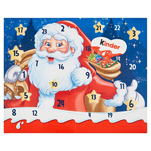 Kinder Mix Tavolo Calendario dell'Avvento, 127g