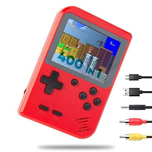 NIERBO Mini Consola de Juegos Retro Portátil, 400 NES FC Juegos Retro...