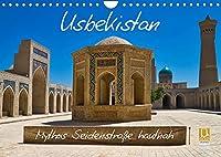 Usbekistan Mythos Seidenstrasse hautnah (Wandkalender 2022 DIN A4 quer): Faszinierende alte Bauwerke und traditionelle Kunsthandwerke entlang der Seidenstrasse in Usbekistan (Monatskalender, 14 Seiten )