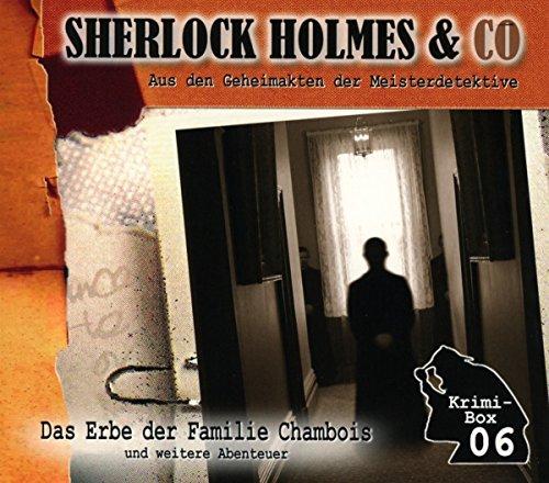 Sherlock Holmes & Co-die Krimi Box 6 (3cd)
