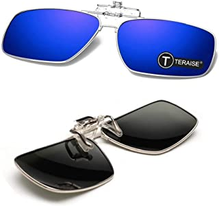 Polarized Clip-on Sunglasses with Flip Up Function Suitable Driving Sports