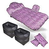 YHDD Auto aufblasbares Bett Auto Matratze Beflockung Car aufblasbares Bett Auto Matratze Matratze...