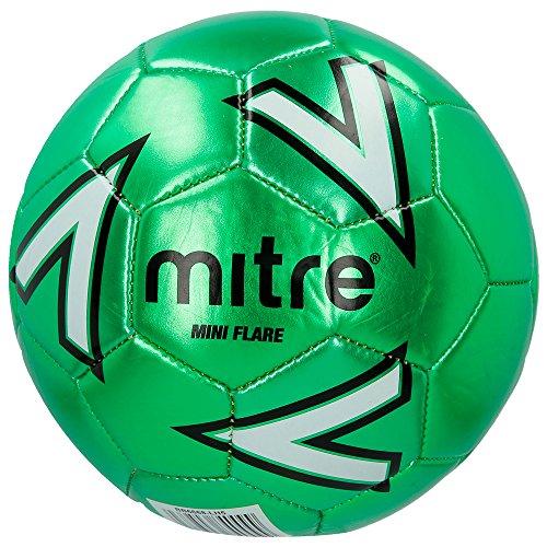 Mitre per Bambini Flare ricreativo Mini Calcio, Bambino, Flare Recreational Mini, Green/White, Mini