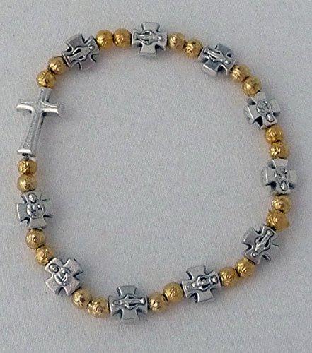 Armband met kruis.