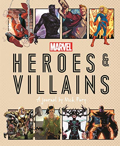 Marvel Heroes and Villains: A journal by Nick Fu