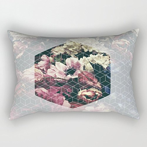 Bestseason Christmas Pillow Covers Of Geometry 16 X 24 Inches / 40 By 60 Cm Best Fit For Family Outdoor Valentine Kids Boys Gf Husband 2 Sides
