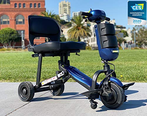 Iliving v8 foldable electric mobility scooter