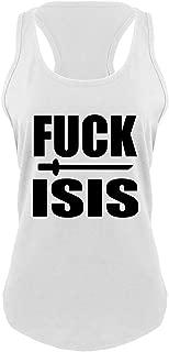 Ladies Fuck Isis Anti Isis, Anti Terrorism Political Shirt Racerback