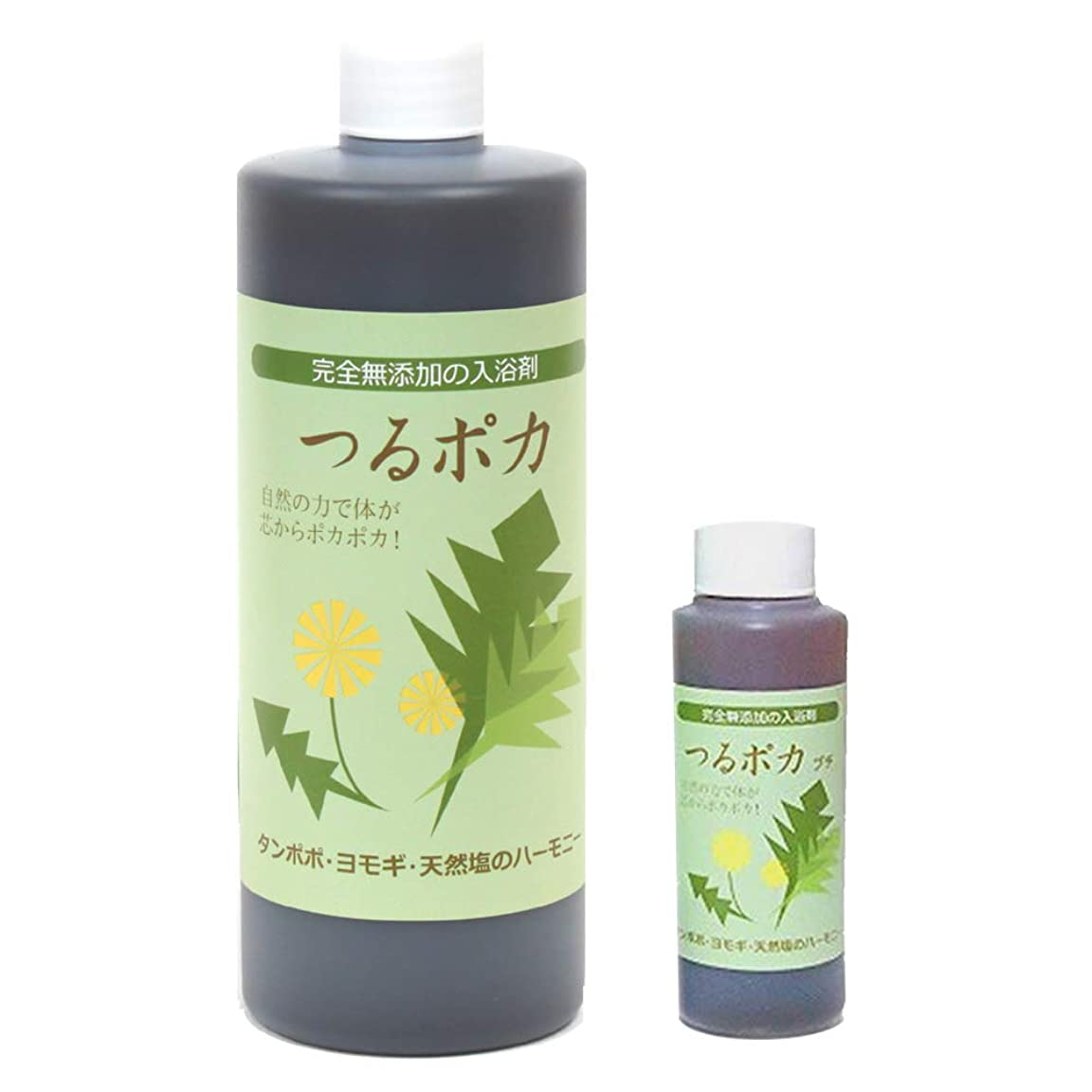 つるポカ入浴剤 500ml+60ml おまけ (ばんのう酵母くん姉妹商品)