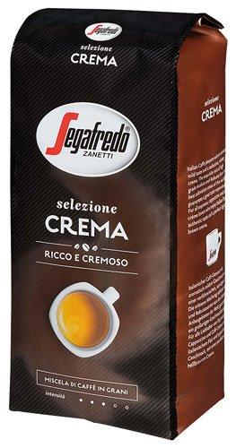 2x Segafredo - Zanetti Selezione Crema, Ganze Bohne - 1000g