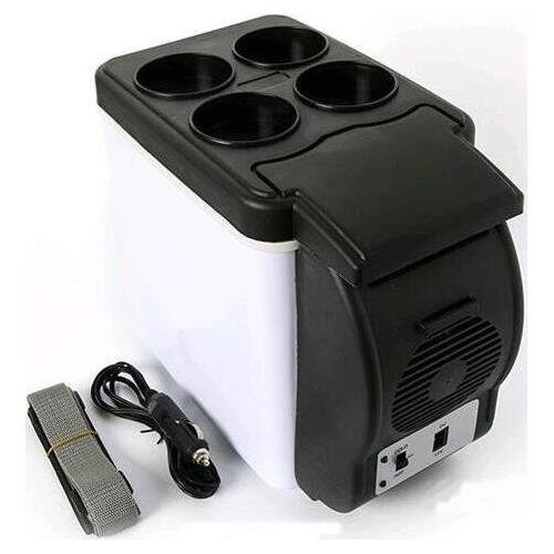All Venture 12V Dual function Travel Cooler & Warmer for Car SUV and RV - 6.0L Capacity (6 L)