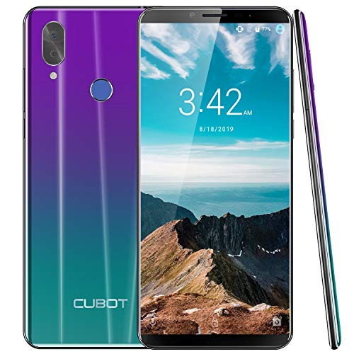 Bester der welt Smartphone CUBOT X19 4G LTE No contract Mobile phone 5.93 inch FHD screen Android9.0 64GB Memory 4GB…