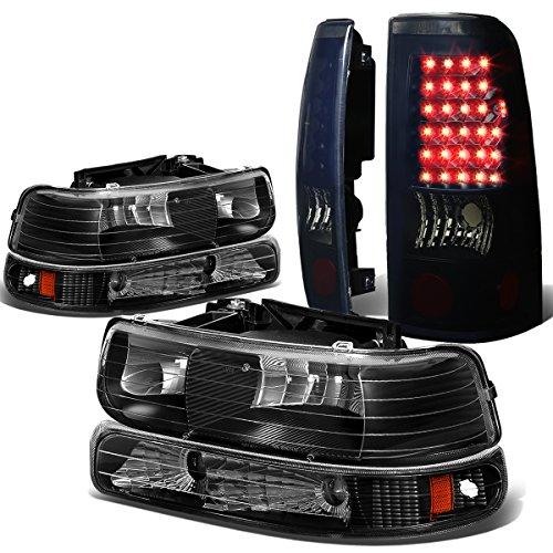 01 silverado black taillights - 9