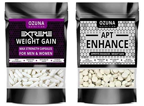 Extreme Weight Gain Anabolic & APT Appetite Enhancer Stimulant Bundle...