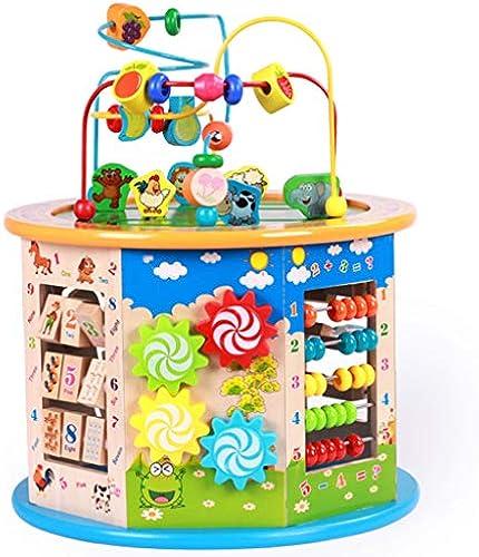 Kind Runde Perlen Schatzkiste Baby Früherziehung Hexahedron Octahedron P gogisches Spielzeug Jungen Und mädchen (Farbe   Octahedral)