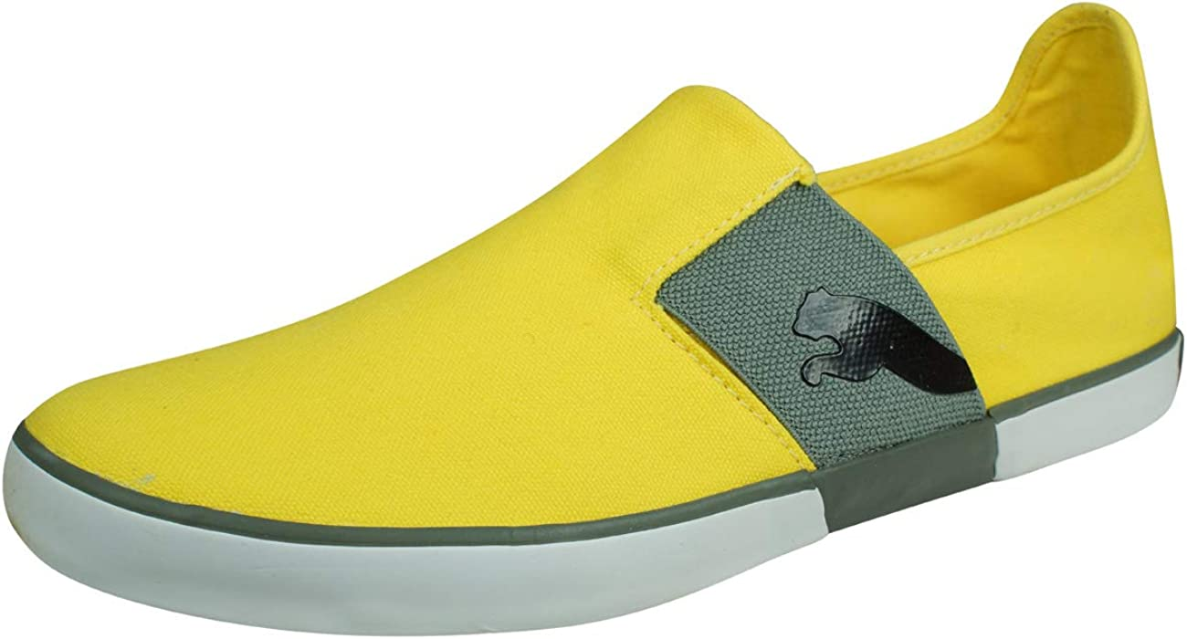 PUMA Lazy Slip On Men's Canvas Sneakers Plimsoll Shoes