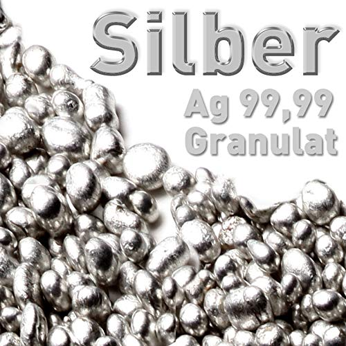 Silber Granulat 10g Silbergranulat Feinsilber Ag 99,99 rein Element Silbernuggets
