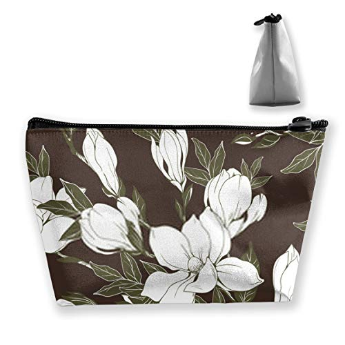 PengMin Flowers Illustration Fashion Womens Multi-Pocket Vintage Canvas Handbags Miniature Shoulder Bags Totes Purses Shopping Bags