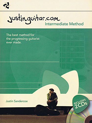 Justinguitar.Com: Intermediate Method (Book & 2 Cds)