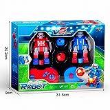 Forart Soccer Bots Robot Kids Toys, Robot de control remoto Soccer Robots RC Juego con 2 juguetes de robot de control remoto para niños adultos