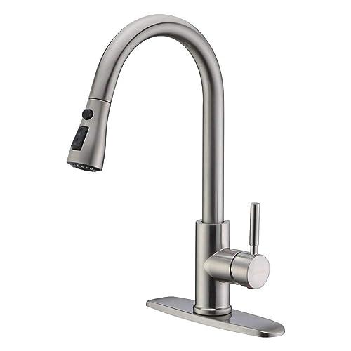Delta Arc Single Handle Kitchen Faucet Amazon Com