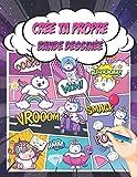 Crée ta propre Bande Dessinée: Un livre de Dessin avec 100 planches de BD vierges pour Adultes, Ados et Enfants | Apprendre à dessiner Manga - Comic. ( Idée Cadeau )