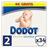 Dodot Pañales Protection Plus Sensitive, Talla 2, para Bebes de 4-8...