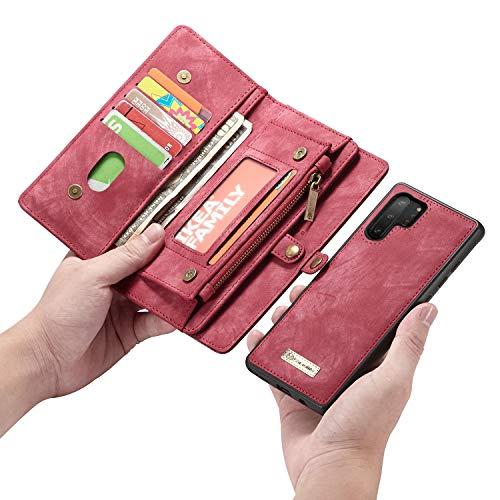 XSJK Case Hülle Samsung Galaxy Note10/Note10+/Note9/Note8/S10/S10Plus/S10E S9Plusg/S9/S8Plus/S8/S7edge/S7/A80/90/A70 Leder Case Hülle mit Magnet Handy Schutzhülle,C,SamsungS9