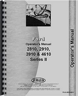 Ford 3910 Tractor Operators Manual (1987-1990) (Series)